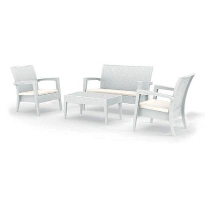 Εικόνα της MIAMI ΣΕΤ WHITE 2ΠΟ+1ΚΑ+ΤΡΑΠ.92Χ53εκ.+ΜΑΞ ΠΟΛ/ΝΙΟΥ