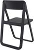 Εικόνα από Καρέκλα Πολυπροπυλενίου 4τμχ Dream Black Πτυσσόμενη 48Χ52Χ82εκ.