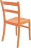 Εικόνα από Καρέκλα Πολυπροπυλενίου 24τμχ Tiffany Orange 45Χ51Χ85εκ.
