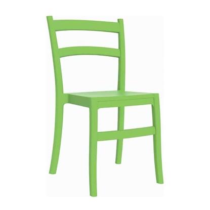 Εικόνα της Καρέκλα Πολυπροπυλενίου 24τμχ Tiffany Tropical Green 45Χ51Χ85εκ.