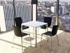 Εικόνα από Καρέκλα Πολυπροπυλενίου Μέταλλο 6τμχ Mio Black 47Χ50Χ80εκ.