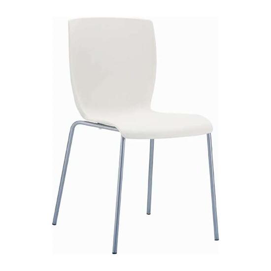 Εικόνα από Καρέκλα Πολυπροπυλενίου Μέταλλο 6τμχ Mio Beige 47Χ50Χ80εκ.