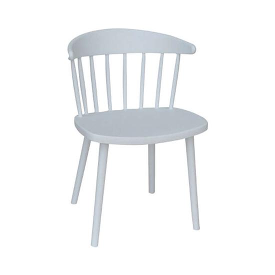 Εικόνα από Καρέκλα Πολυπροπυλενίου 2τμχ Fina Λευκό 50X47X77εκ.