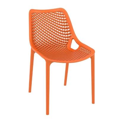 Εικόνα της Καρέκλα Πολυπροπυλενίου 4τμχ Air Orange 50X60X82εκ.