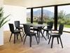 Εικόνα από Καρέκλα Πολυπροπυλενίου 4τμχ Mio PP Black Black 44Χ56Χ84εκ.