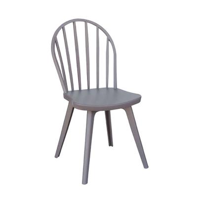 Εικόνα της Καρέκλα Πολυπροπυλενίου 4τμχ Mirella Oval Camel 47Χ54Χ91εκ.