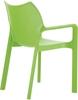 Εικόνα από Πολυθρόνα Πολυπροπυλενίου 22τμχ Diva Tropical Green 57X53X84εκ.