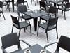 Εικόνα από Καρέκλα Πολυπροπυλενίου 22τμχ Capri Dark Grey 58Χ62Χ82εκ.