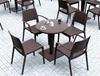 Εικόνα από Καρέκλα Πολυπροπυλενίου 22τμχ Capri Brown 58Χ62Χ82εκ.