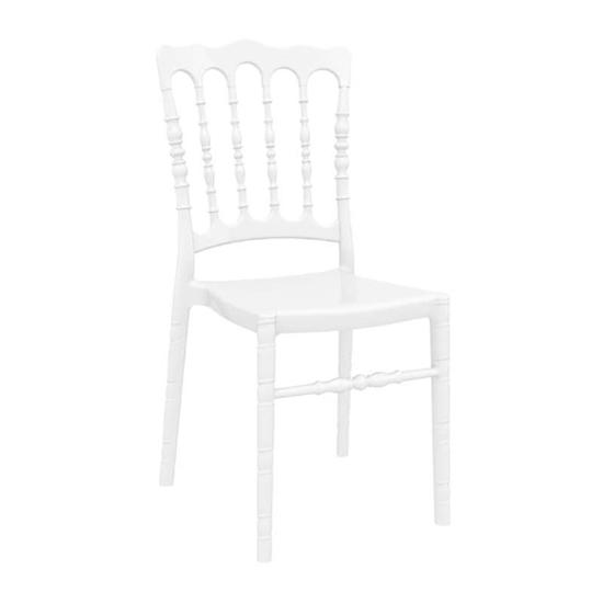 Εικόνα από Καρέκλα Ακρυλική 4τμχ Opera Glossy White 45Χ52Χ92εκ.