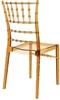 Εικόνα από Καρέκλα Ακρυλική 4τμχ Chiavari Amber Transparent 45X51X91εκ.