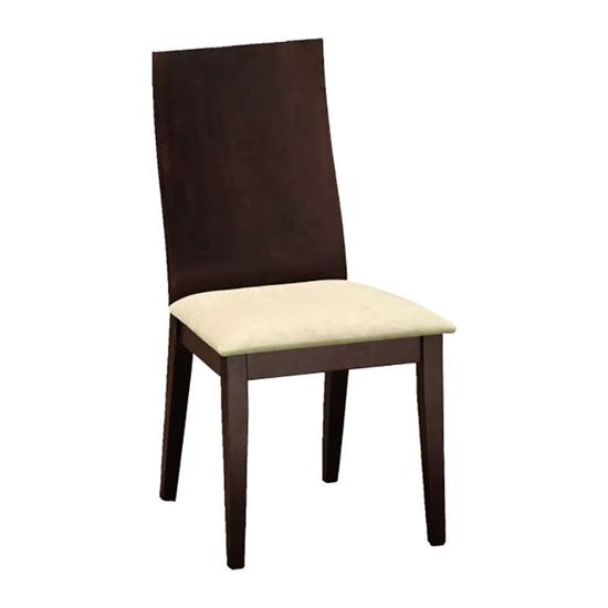 Εικόνα από Καρέκλα Τραπεζαρίας Ξύλινη 2τμχ Caramel Καρυδί 45Χ49Χ95εκ.